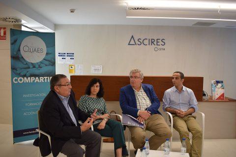 Charla sobre el Alzheimer en ASCIRES CETIR Viladomat
